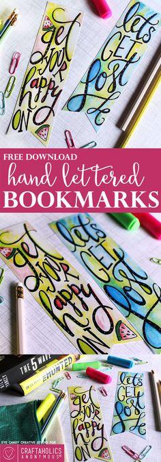 Craftaholics Anonymous® | Free Printable Bookmarks