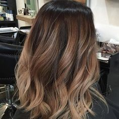 Balayage Caramel Color Hair - When going back to brown