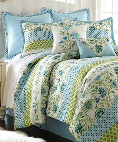 Look what I found on #zulily! Kiana Eight-Piece Embellished Comforter Set by Colonial Home Textiles #zulilyfinds