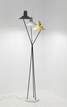 Gino Sarfatti model 103 floor lamp, 1948