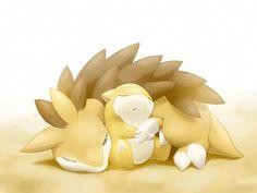 Tags: Anime, Pokémon, Pixiv, Sandshrew, Sandslash