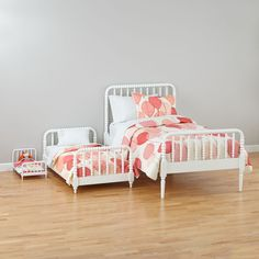 Jenny Lind Toddler Bed (White) | The Land of Nod