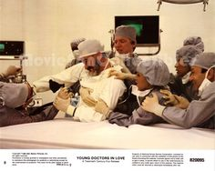 Young Doctors In Love 8x10 Lobby Card Michael McKean, Dabney Coleman