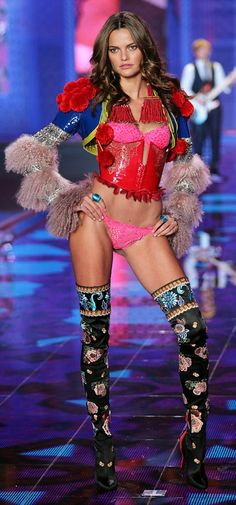 2ddce1041d Alessandra Ambrosio   Adriana Lima lead the way at Victoria s Secret