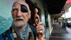 Baba Desi - Our local Wizard. Click to read about him. We had Desi do a blessing to our home after we purchased it years ago. He cleared it of bad energy lingering from a previous owner. He is a local icon and can be seen in the streets of Belgrave, Tecoma, and Upwey on a daily basis.