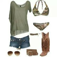Love this country girl outfit