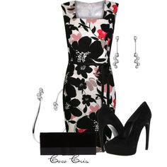 """""""Printed Dresses"""" by coco-cris-1 on Polyvore"""