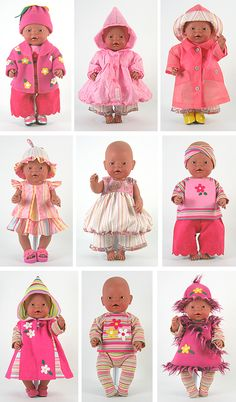 Doll Clothes Pattern | Flower Girl