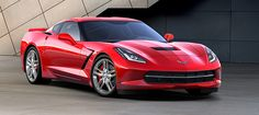 The 2016 Chevrolet Corvette Stingray In Torch Red