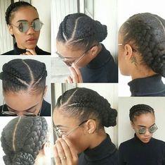 Double braids via @terra.rific.stylez - http://community.blackhairinformation.com/hairstyle-gallery/braids-twists/double-braids-via-terra-rific-stylez/