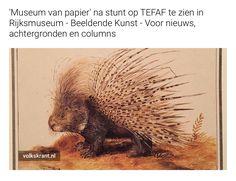 'Museum van papier' na stunt op TEFAF te zien in Rijksmuseum http://s.vk.nl/t-a4475700/ via @volkskrant