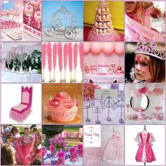 Girly girl birthday parties