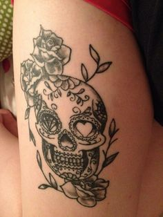 Day of the dead tat