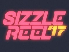 Sizzle logo designed by Shabello. Connect with them on Dribbble; the global community for designers and creative professionals. 80s Design, Neon Design, Graph Design, Typography Logo, Typography Design, Branding Design, Logos, 80s Logo, Neon Logo