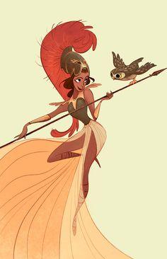 Athena on Behance
