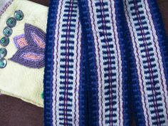 Sash Woven of Wool, Use for Historic Costume or Everyday