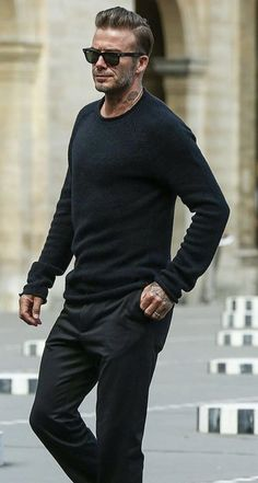 48ba266ee David Beckham Style, Denim Jeans Men, Men Stuff, Mens Fitness, Men Sweater