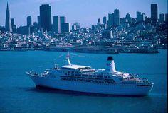 Princess Cruises: The History of Princess Cruises: A Timeline of Key Events Navy Day, Nostalgic Images, Merchant Navy, Love Boat, Princess Cruises, Cruise Ships, Lighthouse, Sailing, The Past