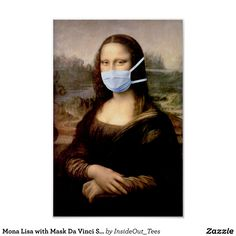 Shop Mona Lisa with Mask Da Vinci Spoofing The Arts Poster created by InsideOut_Tees. Personalize it with photos & text or purchase as is! Mona Lisa Louvre, Monalisa Wallpaper, Mona Lisa Drawing, Mona Lisa Parody, Mona Lisa Smile, Art Jokes, Arte Pop, Funny Art, Art History