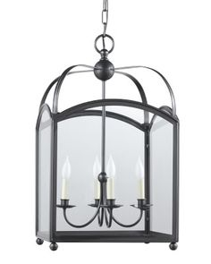 Arched Top Lantern, Oiled Bronze #williamssonoma