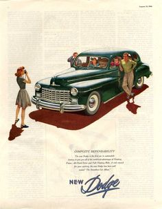 1947 Dodge, The Smoothest Car Afloat