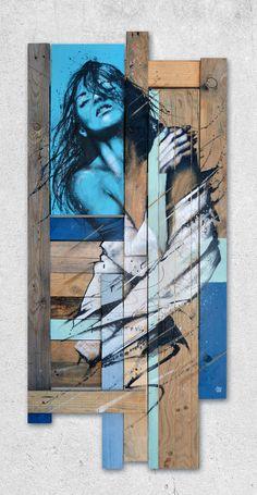Tableau Pop Art, Abstract Canvas Art, Street Art Graffiti, Mural Art, Texture Art, Figure Painting, Portrait Art, Art Drawings, Pop Art Drawing