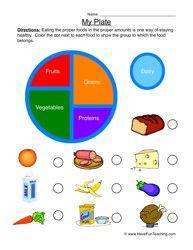 REPIN Healthy Food Worksheets. Plenty of free printable worksheets ...