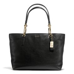 The Madison East/west Tote In Leather from Coach. the perfect college graduation gift!!
