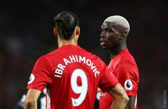 Paul Pogba and Zlatan Ibrahimović