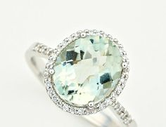 Ever since Johnathan gave my my engagement ring... I've been obsessed with halo rings!! :) Love this!  This color <3