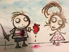 Tim Burton's Valentine Card