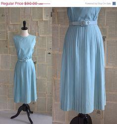 SALE Vintage 1960s Dress 60s Dress Cocktail by SassySisterVintage, $72.00