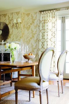 Gorgeous wallpaper from Thibaut