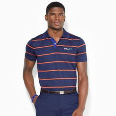 Custom-Fit Striped Polo Shirt - RLX Golf Custom-Fit - RalphLauren.com