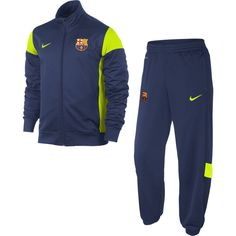 0fe5360ad3708 Barcelona 13 14 Academy Warm Up Suit Training Tops