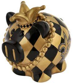 New Orleans Saints Piggy Bank - Thematic Large Z157-8686705578