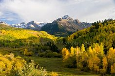 Mt. Sneffels Wilderness in SW Colorado in the fall is about as good as it gets!