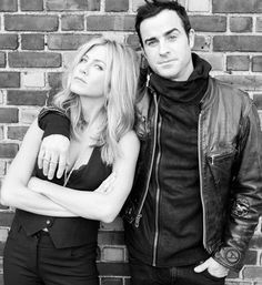Favorite of Brad Pitt's wives and Favorite of Jennifer Aniston's Husbands - Jennifer Aniston And Justin Theroux