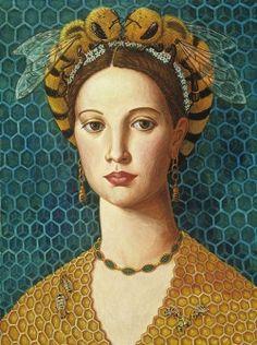 womeninarthistory:  Queen Bee, Lea Bradovich
