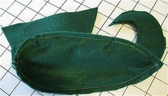 Free Pattern and Directions to Sew Elf Costume Shoes