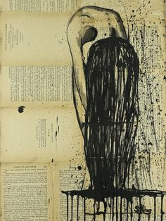 """Saatchi Online Artist Sara Riches; Drawing, """"Left Out To Dry"""" #art"""