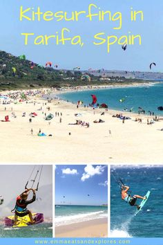 Kitesurfing in Tarifa, Spain by Emma Eats & Explores