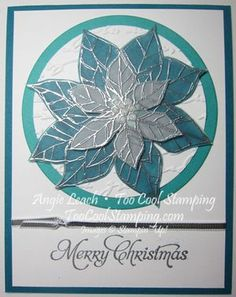 Wow Techniques: Stained Glass Poinsettia