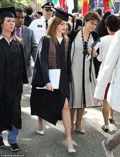 Emma Watson to graduate from Brown University!