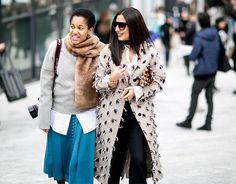Неделя моды в Милане, осень-зима 2016: street style. Часть 2 (фото 9)