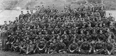 """lovemytoccoamen:  """"One day, I took out a photo of Easy Company and a black felt pen. Starting in the front row, left to right, and going upward in rows, I looked at every man in that photograph—117. For some reason, I marked """"KIA"""" on the chests of those who'd been killed in action and """"SWA"""" on the chests of those who'd been seriously wounded in action. There were thirty-five KIAs. And sixty-one SWAs. That left fewer than two dozen of us with clean chests. And, for that matter, clean…"""