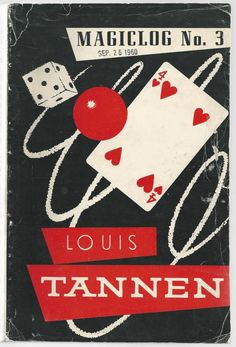 Old catalog of Louis Tannen