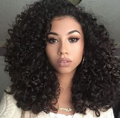 Afro Kinky Curly Wig Black Hair Synthetic Wigs for Women Kinky Curly Wigs, Human Hair Wigs, Curly Weaves, Curly Hair Styles, Natural Hair Styles, Pelo Natural, Big Hair, Weave Hairstyles, Prom Hairstyles