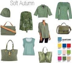 Greenery for Soft Autumn