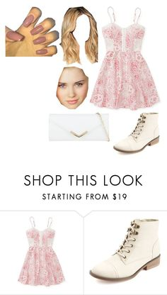 """""""Untitled #2294"""" by hey-mate on Polyvore featuring Aéropostale, Charlotte Russe, ALDO and Ultimate"""